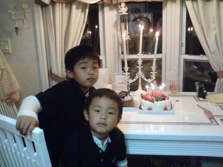 次男坊5歳のお誕生日☆